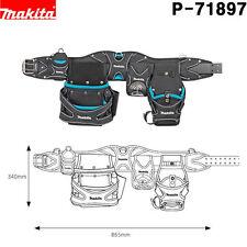Makita P-71897 Super Heavyweight Champion Tool Belt Pouch & Drill Holster Set