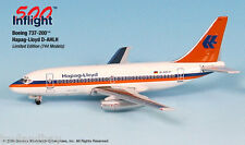 InFlight500 Hapag Lloyd Airlines D-AHLH Boeing 737-200 1:500 Scale New Diecast