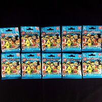Lot of 10 LEGO 71018 Simpsons Minifigures Series 17 Factory-Sealed Blind Bags