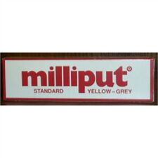 Milliput Standard Yellow-grey 113.4g Pack - Putty Yellow Grey Epoxy 2 Part