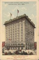 Savannah, GEORGIA - Hotel Savannah  - 1914 - ARCHITECTURE