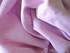 65x100 cm Stoff Ökotex ♥ Leinen rosa rose feine leichte Qualität  170 cm breit