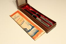 "VINTAGE NOS USSR RUSSIA SET FOUNTAIN PEN AND PENCIL ""UNION""  ""LENINGRAD"" 1955's"