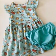 Baby Girl 24 Months Floral Sun Dress Blue
