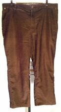 G29 THE NORTH FACE Hiking Pants Men 40x30 Brown Corduroy Style Casual Camping