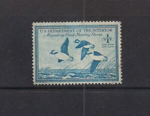 US Duck Stamp # RW-15 Mint F-VF