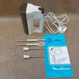 Vintage Retro 1970s Moulinex Electric Minor Mixer (593 310)
