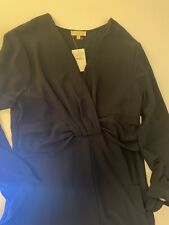 &. layered DRESS Nordstrom Rack xl Extra Large NAVY