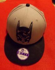 BATMAN DC Comics Youth Gray Baseball Cap Hat Embroidered 9FFifty
