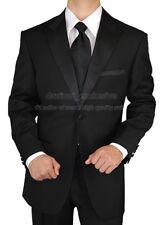 Clearance Uomo Romeo $498 Mens Tuxedo Suit 1 Button Peak Lapel Pleated pants