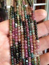 "14-15"" Strand 3.5mm Round Tourmaline Beads L@@K SALE"
