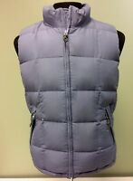 EDDIE BAUER DOWN VEST WEATHEREDGE ADJUSTABLE SIDE TABS  MEN'S SIZE SMALL