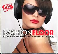 Compilation 4xCD Fashion Floor - Dancefloor Music For Fashion People - France