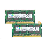 Samsung 16GB 2X 8GB DDR3 1600MHz PC3-12800S 204PIN SODIMM Laptop RAM Memory 1.5V