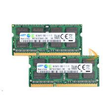Samsung 16GB 2X 8GB DDR3 1600MHz PC3-12800S 204PIN SODIMM Laptop RAM Memory 1.5V