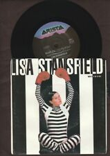 """Lisa Stansfield - What Did I Do To You? - 1990 7"""" picture sleeve single 45rpm"""