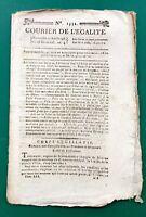 Besançon en 1796 Doubs Jacobins Révolution Française Courrier de l'égalité