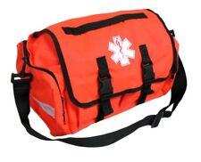 First Responder Emt Paramedic On Call Trauma Bag W/ Reflectors Orange 17X7X10