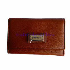 OROTON Kiera High Fold New Clutch Wallet Purse Leather Tan Tags Box
