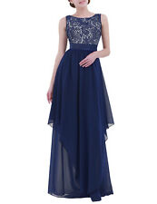 Women's Formal Prom Long Cocktail Party Ball Gown Evenings Bridesmaid Dress 2XL