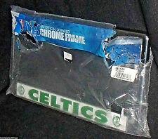 Boston Celtics Metal License Plate Tag Frame NEW Ripped Plastic