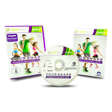 XBOX 360 Jeu Your Shape Fitness Evolved 2012 in neuf dans sa boîte avec mode d'emploi