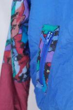 True VINTAGE Damen Skianzug Skijacke & Skihose Latzhose shiny 80er skisuit 80s