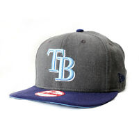 BRAND NEW - Tampa Bay Rays New Era MLB Hat - Men's SNAPBACK (Grey and Blue)