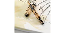 Montblanc Leonardo Da Vinci 18kt Gold Limited Edition 74 Skeleton Fountain Pen