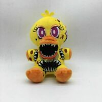 FNAF Five Nights at Freddy's Nightmare Chica Doll Plush Toys Gift H18cm