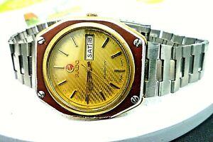 "Mens 37mm RADO GOLDEN CITY 17j Auto ETA 2879 (PARTS/ Repair) SS 8 1/2"" Watch"