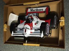 RARE MARLBORO MOBIL INDY F1 RACE CAR NEON LIGHT ADVERTISING SIGN BOX PICKUP ONLY