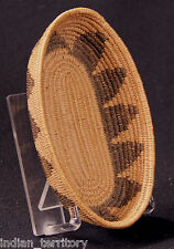 Havasupai Indian Boat-shaped Basketry Bowl c.1920 6 1/2 Willow and Martynia