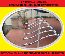 6 Waterfall Garment clothing Hanger Rack 10 Bead for Market Stall Gazebo Marquee