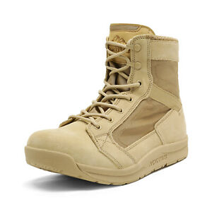NORTIV 8 Men's Military Tactical Combat Army Boots Lightweight Hiking Work Boots