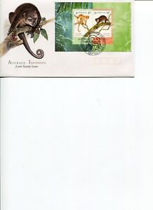 1996 AUSTRALIA Cuscuses S/S Joint Issue with Indonesia Official Post Office FDC.