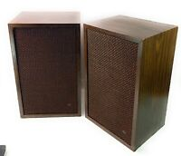 Pair Of Vintage BOZAK B 301A TEMPO  Speakers ***Read Description