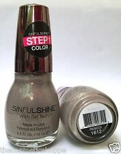 SINFUL SHINE WITH GEL TECH COLORS PROFESSIONAL # 1612 PROSECCO VHTF