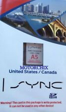 Lincoln SYNC Navigation SD Card A5 Fits: 2013 2014 MKS & MKT Map Ver © 2013 2014