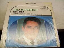 Fritz Wunderlich-Lyric Tenor-LP-Shrink-Vinyl-Seraphim-S60043-VG+