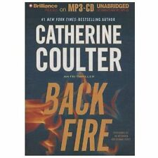 FBI Thriller: Backfire 16 by Catherine Coulter (2013, MP3 CD, Unabridged)