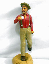 LUMBERJACK COFFEE BREAK G F 1:20.3 Model Railroad Painted Figure FGGLOG07