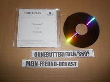 CD Pop Simple Plan - Astronaut (1 Song) Promo WARNER MUSIC