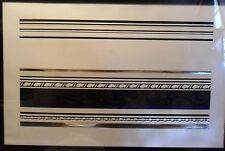 ROY LICHTENSTEIN Hand Signed and numbered print low edition of 30 'Entablature'