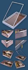 Large Aluminium Dealer Lockable Show Display Case WW1 WW2 Pistols Bayonets Medal