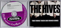 THE HIVES Two-Timing Touch & Broken Bones 1-trk promo CD
