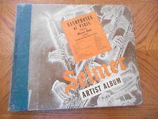 "RARE MARCEL MULE ""SAXOPHONES OF PARIS"" 10"" 78 RPM PARTIAL SET 3 RECORDS WITH ALB"