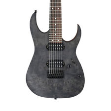 Ibanez Rg7421pb - Transparent Grey Flat RG 2018 Spot Run Electric Guitar
