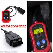 OBDII OBD2 MS300 Scan Fault Code Reader Scanner Diagnostic Tool Data Tester Tool