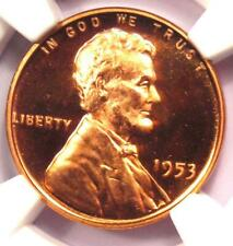 1953 Proof DDO Lincoln Cent 1C - NGC PR67 RD Ultra Cameo (PF67) - $4,250+ Value